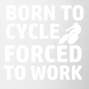 BORN TO CYCLE design - Coffee/Tea Mug