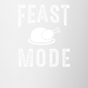 Feast Mode Funny Thanksgiving Beast TShirt - Coffee/Tea Mug