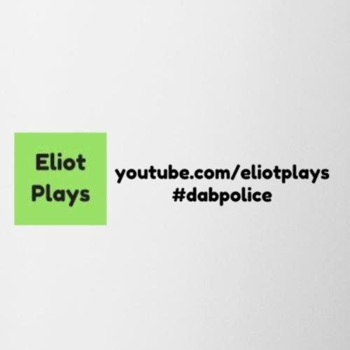 Eliot Plays YouTube + #dabpolice - Coffee/Tea Mug