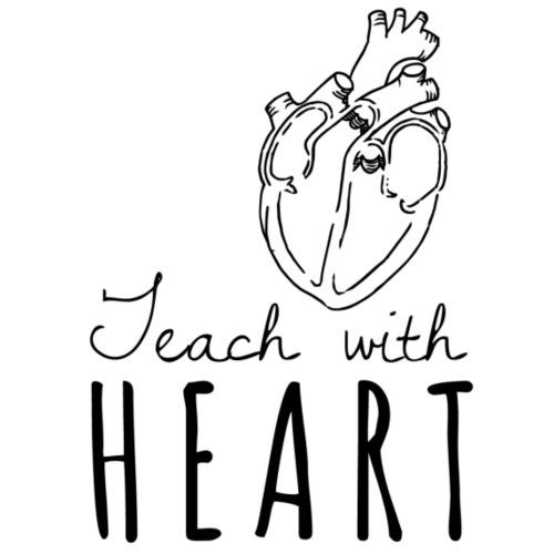 TEACH WITH HEART - Coffee/Tea Mug