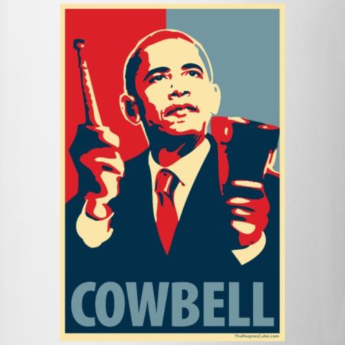 Cowbell: parody of Obama poster - Coffee/Tea Mug
