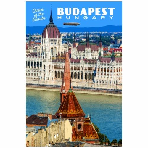 Vintage Budapest Travel Poster - Coffee/Tea Mug
