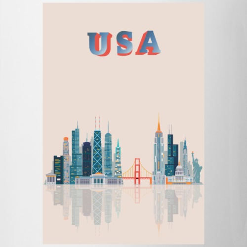 USA CITYLINE! - Coffee/Tea Mug