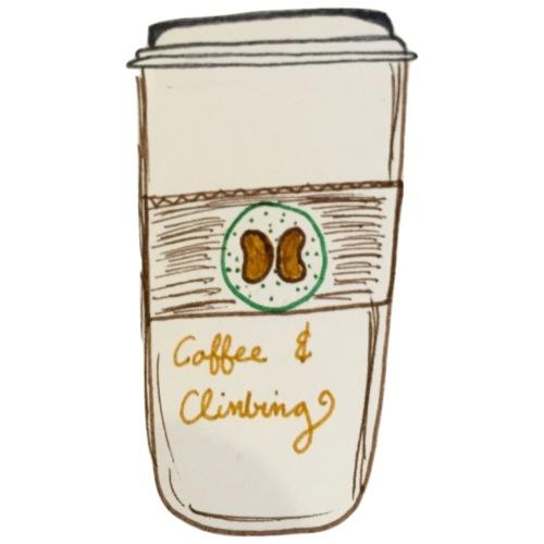 Climbin on Coffee - Coffee/Tea Mug