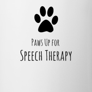 Paws up for Speech Therapy - Coffee/Tea Mug