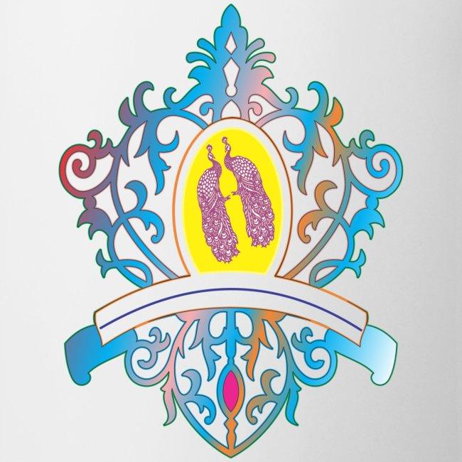 peacock love logo