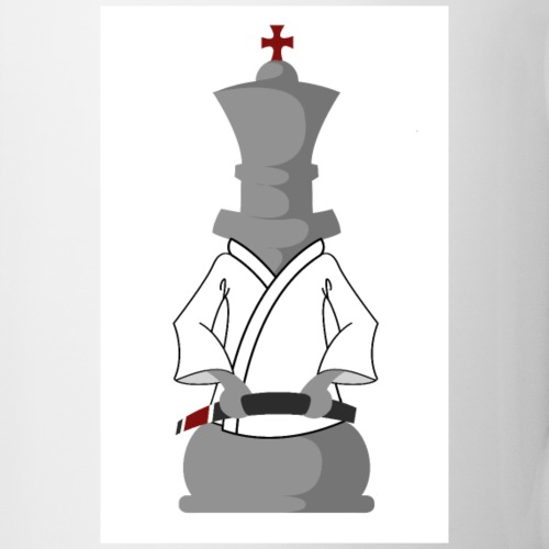 Jiu-Jitsu King Chess Piece - Coffee/Tea Mug