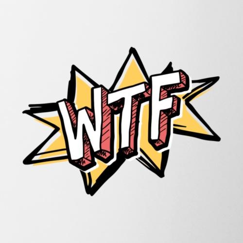 wtf slang word - Coffee/Tea Mug