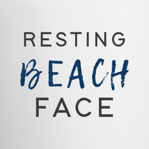 Resting Beach Face - Coffee/Tea Mug