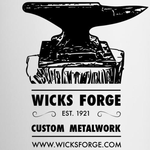 Wicks Forge Anvil Logo - Coffee/Tea Mug