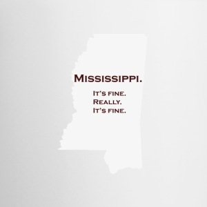 Mississippi_Maroon - Coffee/Tea Mug