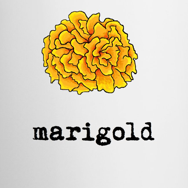 Marigold (black text)