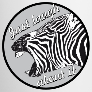 zebra laugh abaout it - Coffee/Tea Mug