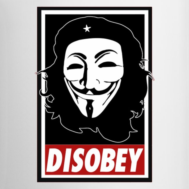 Anonymous Disobey Che gif