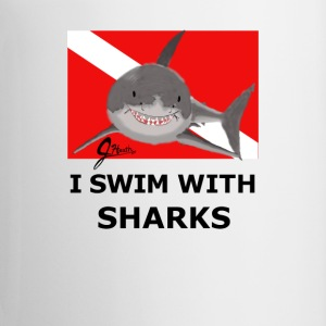 I Swim With Sharks! - Coffee/Tea Mug