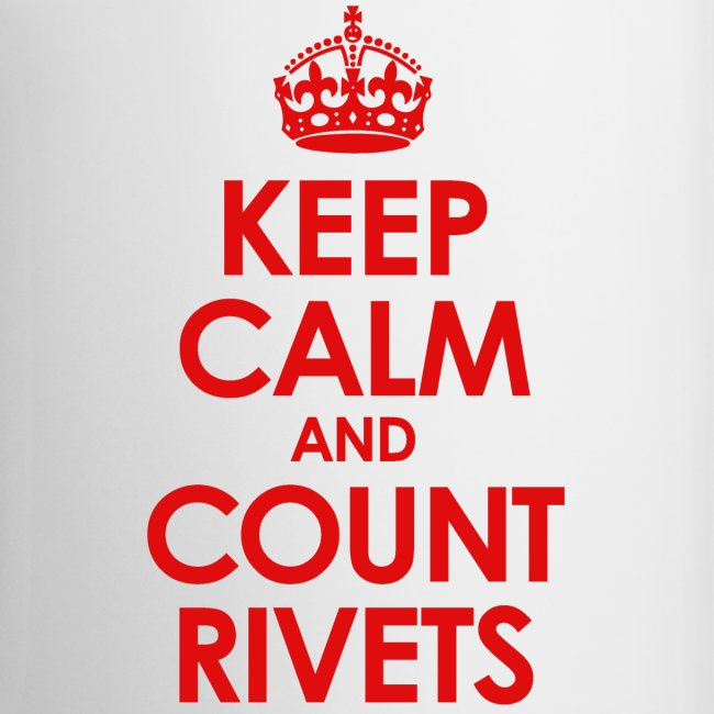 keep calm count rivets red png