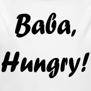 Baba, Hungry! - Long Sleeve Baby Bodysuit