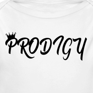 Prodigy Black w/Black Crown - Long Sleeve Baby Bodysuit
