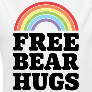 Free Bear Hugs - Long Sleeve Baby Bodysuit