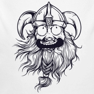 Crazy Viking - Long Sleeve Baby Bodysuit