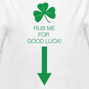 Rub Me for Luck - Long Sleeve Baby Bodysuit