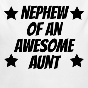 Nephew Of An Awesome Aunt - Long Sleeve Baby Bodysuit