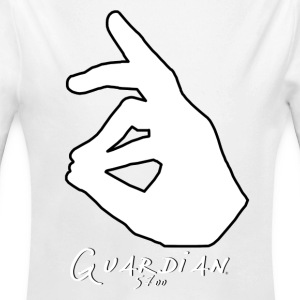 Guardian 5700 White - Long Sleeve Baby Bodysuit