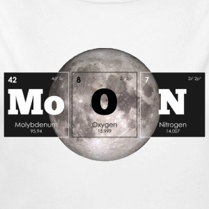 Periodic Elements: MoON - Long Sleeve Baby Bodysuit