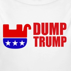 Anti Trump designs - Long Sleeve Baby Bodysuit