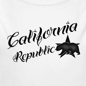 California Republic - Long Sleeve Baby Bodysuit