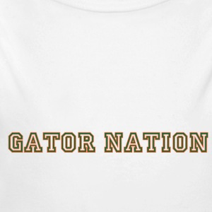 Gator_Nation_ Orange - Long Sleeve Baby Bodysuit