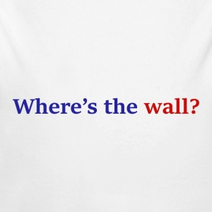 Where's The Wall? - Long Sleeve Baby Bodysuit