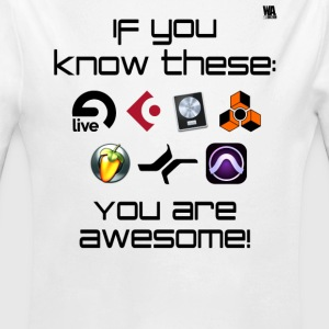 If you know these DAW templates - you are awesome! - Long Sleeve Baby Bodysuit