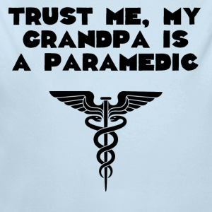 My Grandpa Is A Paramedic - Long Sleeve Baby Bodysuit
