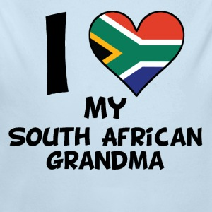 I Heart My South African Grandma - Long Sleeve Baby Bodysuit