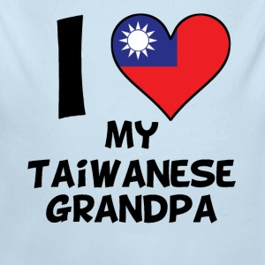 I Heart My Taiwanese Grandpa - Long Sleeve Baby Bodysuit
