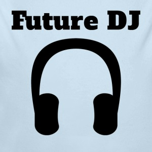 Future DJ Headphones - Long Sleeve Baby Bodysuit