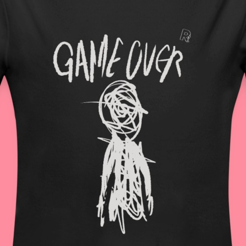 Game Over - Organic Long Sleeve Baby Bodysuit