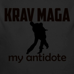 krav_maga design - Long Sleeve Baby Bodysuit