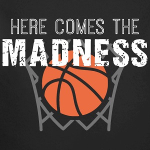 Here Comes the Madness College Basketball T Shirt - Long Sleeve Baby Bodysuit