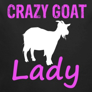 Cool Goat lady - Long Sleeve Baby Bodysuit