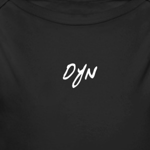 Dynamic Mini Logo! - Long Sleeve Baby Bodysuit