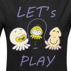 Let's play - Long Sleeve Baby Bodysuit