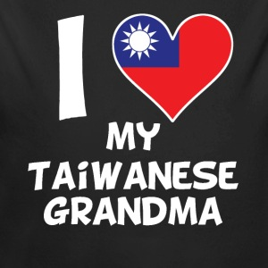 I Heart My Taiwanese Grandma - Long Sleeve Baby Bodysuit