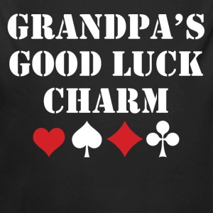 Grandpa's Good Luck Charm - Long Sleeve Baby Bodysuit