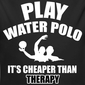 water polo design - Long Sleeve Baby Bodysuit