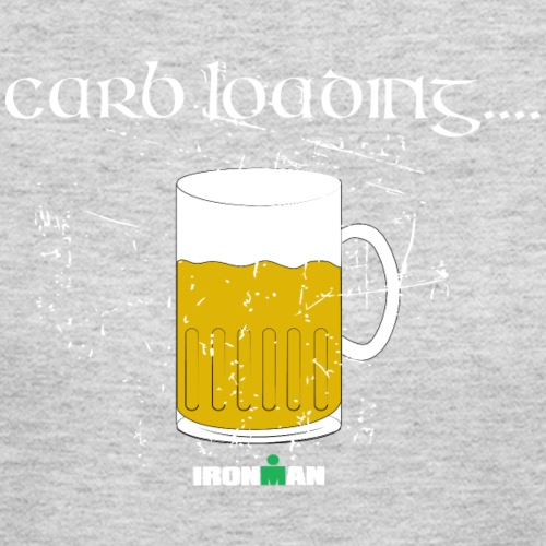 carb loading beer - Women's Long Sleeve Jersey T-Shirt