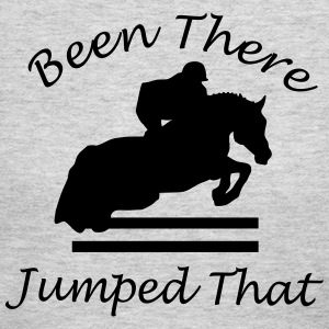 Been There, Jumped That - Women's Long Sleeve Jersey T-Shirt