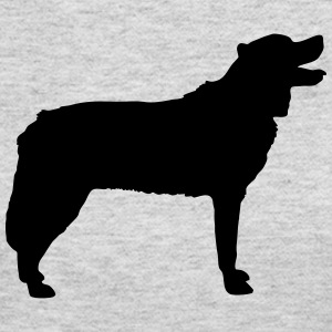 Vector dog Silhouette - Women's Long Sleeve Jersey T-Shirt