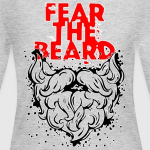 Fear_the_beard - Women's Long Sleeve Jersey T-Shirt